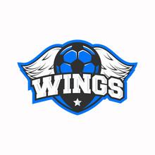 Football Logo, Label, Badge. S...