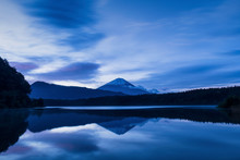 View Of Mount Fuji At Sunrise ...