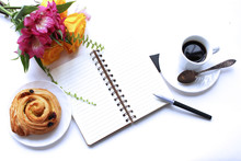 A Loaf, Coffee, A Notebook For...