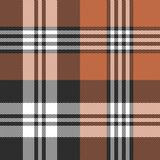 Tartan plaid pattern. Seamless vector tartan check plaid in brown, orange, and white for autumn and winter flannel shirt, scarf, blanket, throw, and other modern textile design. - 328160472