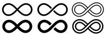 Infinity Symbol Set. Vector