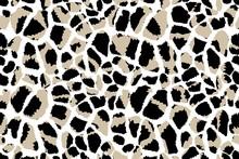 Giraffe Skin Seamless Pattern....