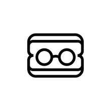 Glasses For The Doctor Icon Ve...