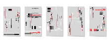 A Set Of Editable Template For...