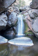 View Of A Little Waterfall In ...