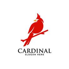 Cardinal Bird Icon Silhouette ...