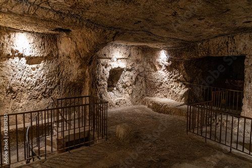 Fototapeta The prison of Jesus Christ in Jerusalem in Jerusalem