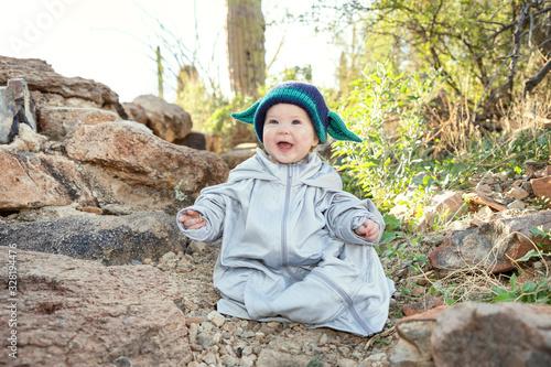 Obraz na plátně Baby Yoda Cosplay