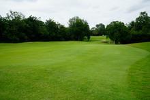 The Evening Golf Course Has Su...