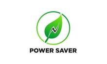 Power Saver Vector Logo