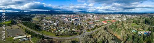 Fototapeta Panoramic View of the University in Corvallis Oregon obraz