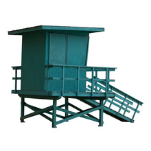 A Lifeguard Tower, Isolated On...
