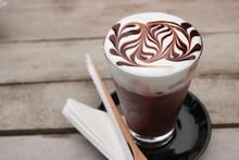 Delicious Iced Mocha Coffee. M...