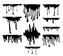 Dripping Vector Set Collection...