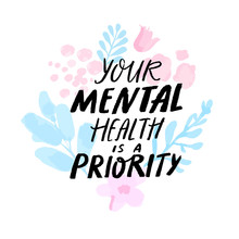 Your Mental Health Is A Priori...
