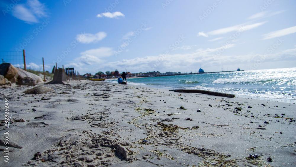 Fototapeta piękny krajobraz morski  brzeg morza