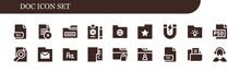 Doc Icon Set