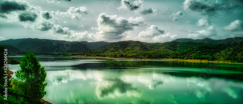 Embalse Talave Wallpaper Mural