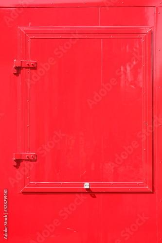 Obraz na plátne Rote Luke aus Metall, Deutschland, Europa