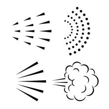 Water Spray Vector Icon