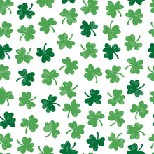 Saint Patrick's Day Holiday Pattern. Beer Festival Decoration.