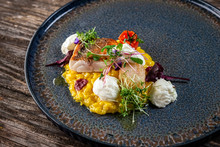 Seafood Risotto With Saffron