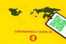 QR Code For Coronavirus Covid-...