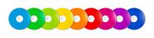 Colorful Rainbow CD - DVD Rang...