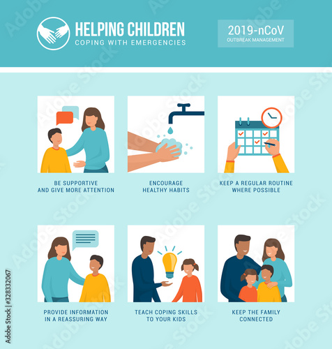 Helping kids coping with stress during emergencies - 328332067