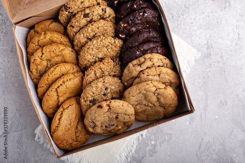 Photo Box of assorted cookies