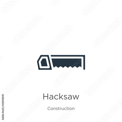 Fototapeta Hacksaw icon vector