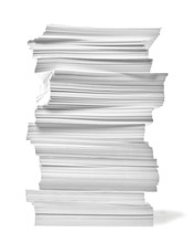 Paper Stack Pile Office Paperw...