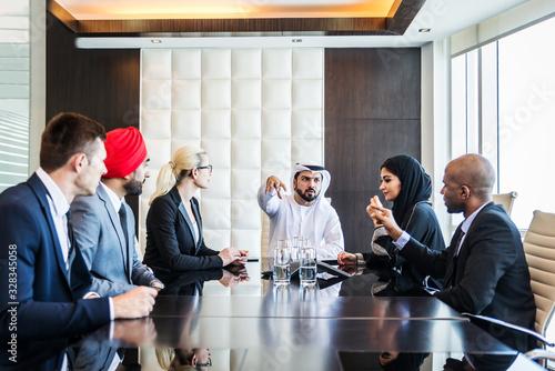 Valokuvatapetti Business team in Dubai
