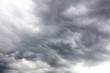 Leinwandbild Motiv Grey storm clouds