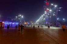 Famous Beijing Olympic Park La...