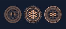 Circle Geometric Ornaments And...