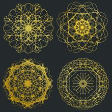 Decorative Ornate Snowflake Lo...