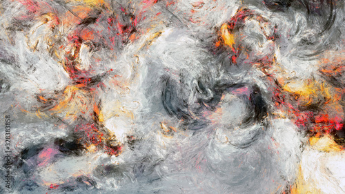 Fotografie, Obraz Abstract painting texture