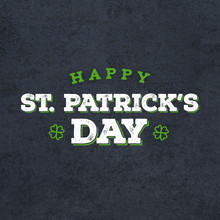 Happy St. Patrick's Day Grunge...