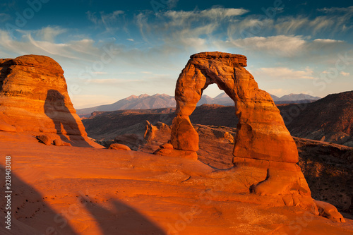 Photo Delicate Arch, Arches National Park, Sand Stone, USA, Southwest