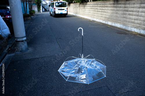 Photo 強風の後〜道路の障害物