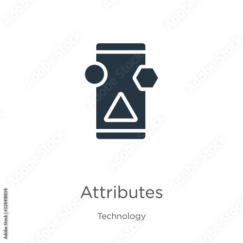 Attributes icon vector Wallpaper Mural