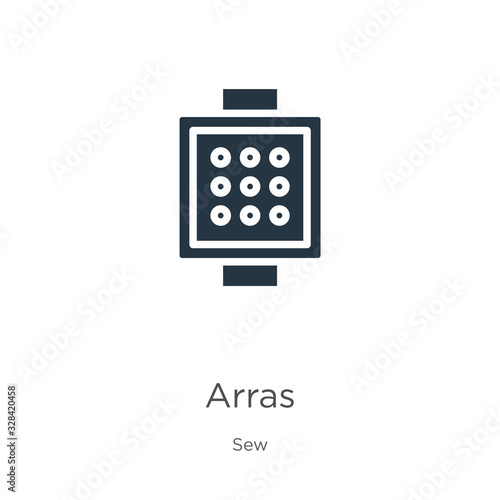 Arras icon vector Wallpaper Mural