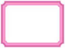 Pink Frame With Copy Space For Your Text