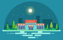 Supermarket Grocery Store Reta...