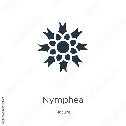 Photo Nymphea icon vector