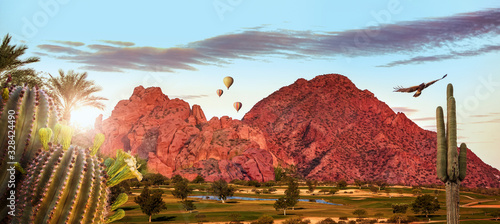 Photo Phoenix Arizona Travel Scene Web Banner