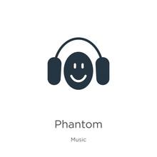 Phantom Icon Vector. Trendy Fl...