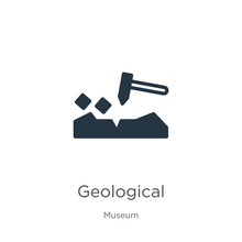 Geological Icon Vector. Trendy...