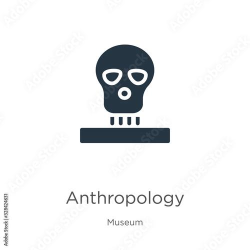 Anthropology icon vector Wallpaper Mural